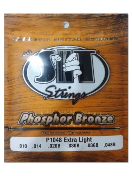 Encordado para Acustica, P1048, Phosphor Bronze, extra light, 010-048.