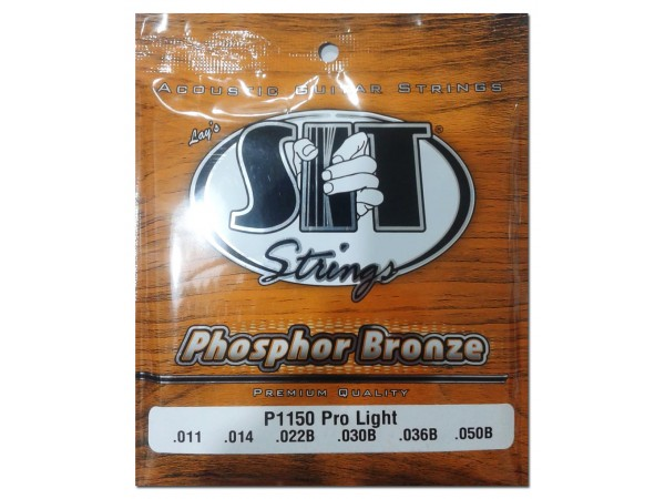 Encordado para Acustica, P1150, Phosphor Bronze, pro light, 011-050.
