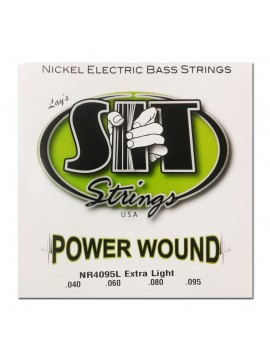Encordado para Bajo, NR4095L, Power Wound, nickel, extra light, 040-095