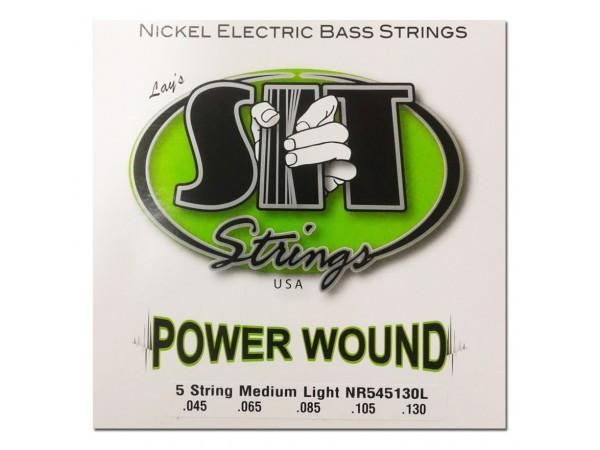 Encordado para Bajo, NR545130L, Power Wound, nickel, medium light, 045-130.