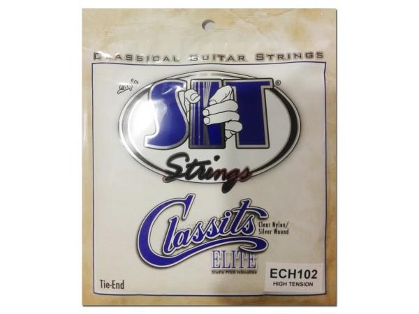 Encordado para Clasica, ECH102, Elite, high, clear nylon/silver wound.