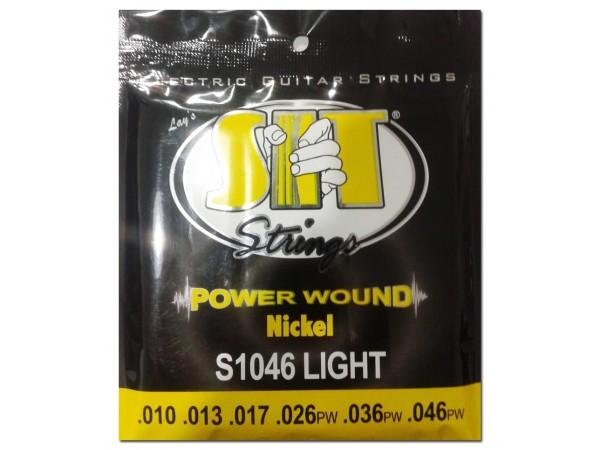 Encordado para Electrica, S1046, Power wound, nickel, light, 010-046.