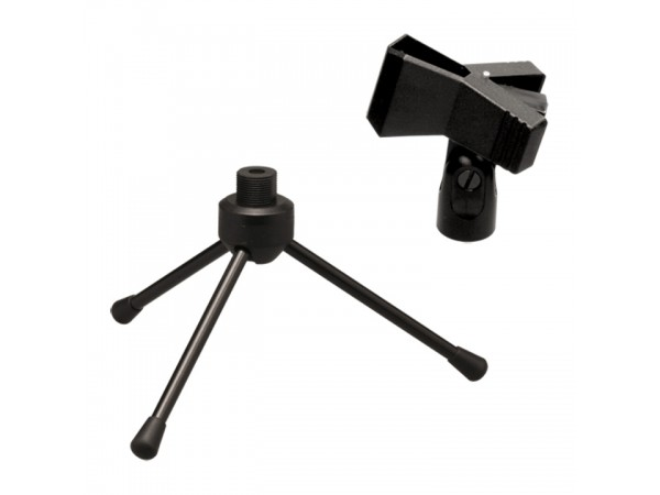 Soporte de Microfono DS011  para mesa con pipeta pinza
