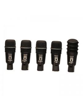 Microfono para Bateria, DRK-A5 Set de 5 microfonos