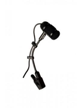 Microfono para Saxo  PRA383TQG cuello de ganzo con clip