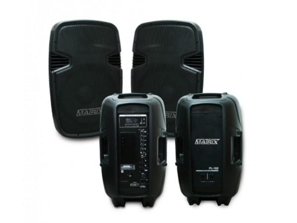 Bafle acustico KIT Activo/Pasivo 15