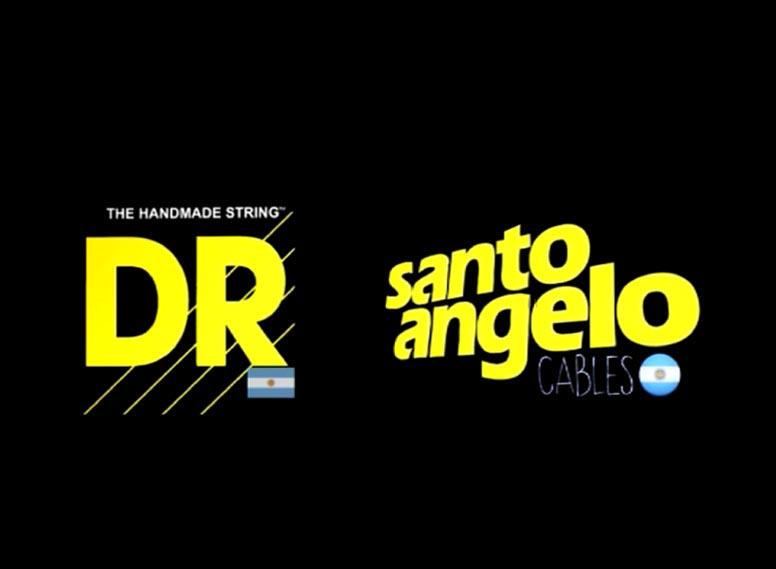 DR STRINGS PURE BLUES JUNTO A SANTO ANGELO